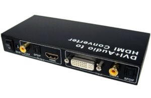 DVI Dual Link + Audio to HDMI Converter