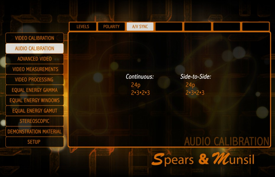 Spears & Munsil HD Benchmark Disc 2nd Edition