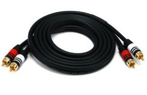 1.8M (6ft) Premium 2 RCA Plug-0