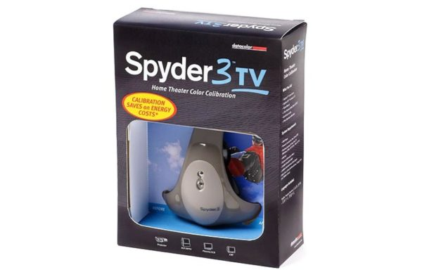 Spyder3TV Home Theater Color Calibration Package