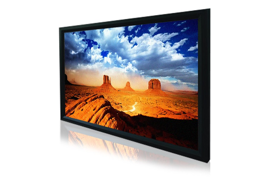 """120"""" 16:9 Acoustically Transparent Fixed Frame Screen"""