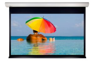 133 inch VistaView Electric 16:9 Motorised Screen with RS232 Control