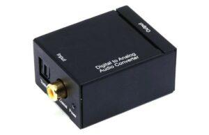 Rapallo Optical Toslink or Digital Coax DAC-0