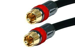 1.8M (6ft) High Quality Coaxial Audio/Video RCA to RCA