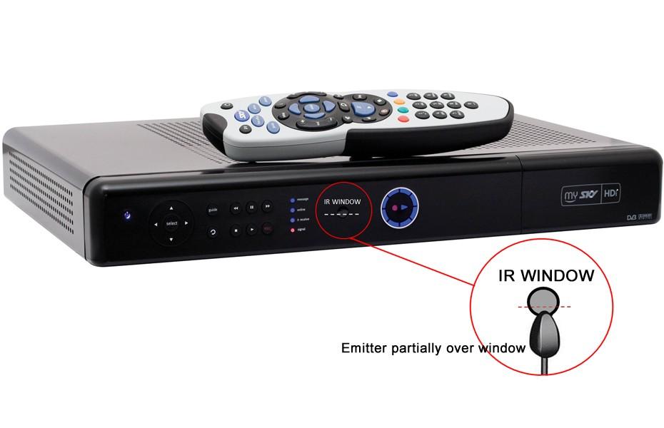 MySky Wireless Remote Control IR to RF Extender