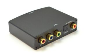 Component(YPbPr) & S/PDIF Digital Coax/Optical Toslink Audio to HDMI Converter