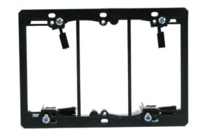 Wall Plate Triple Gang Mounting Bracket-0