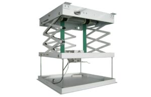 Motorised Projector Lift - Extension 800mm, 450x450x145mm (WxDxH)