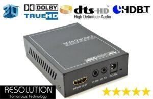 Resolution Universal HDBaseT CAT5/6 Receiver