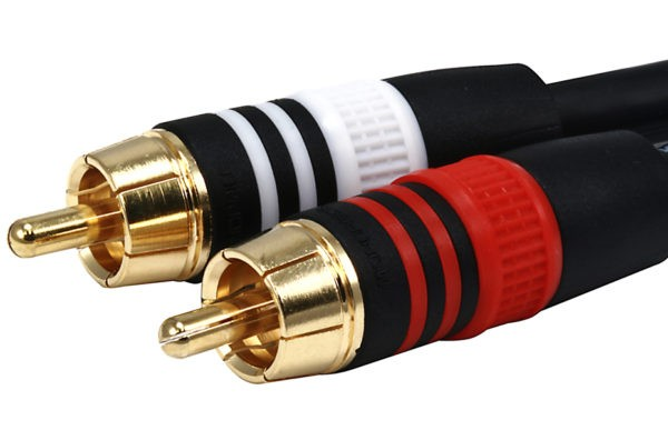 0.45M (1.5ft) Premium RCA to RCA Cable-4977