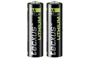 Texcus Lithium Battery - AA (Two per pack)-0
