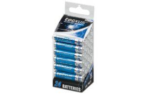 Tecxus Alkaline Maximum AAA Batteries - 24 pack-0