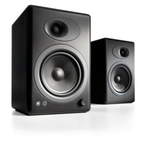 Audioengine A5+ Powered Bookshelf Speakers (Pair)