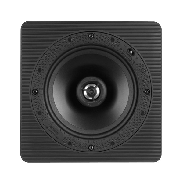 """Definitive Technology DI 6.5S Disappearing Series 6.5"""" Square In-wall/Ceiling Speaker (single)"""