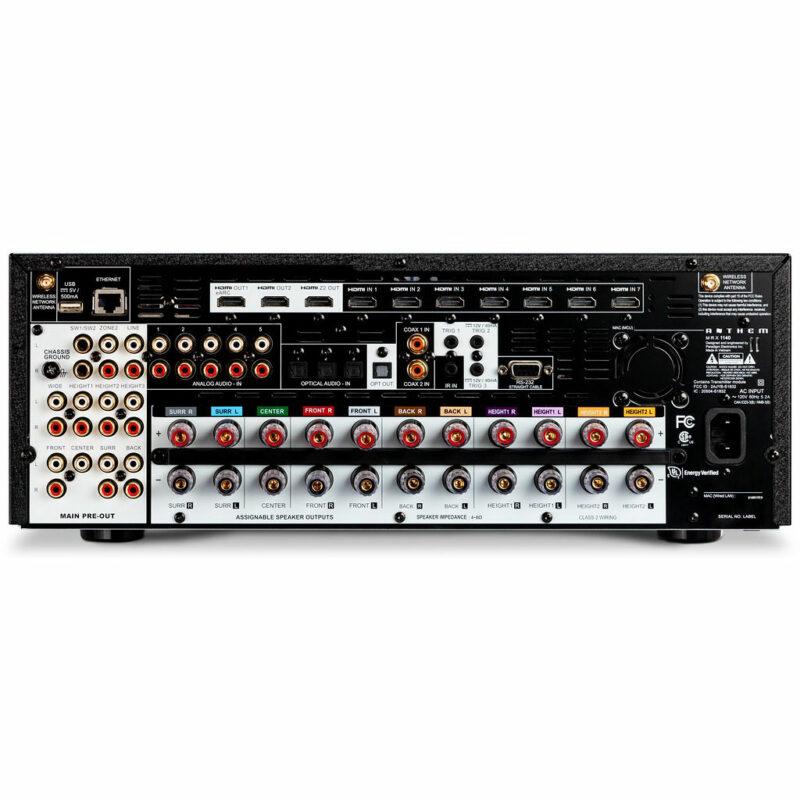Rapallo   Anthem MRX 1140 15.2 Pre-Amplifier & 11 Amplifier Channel AV Receiver