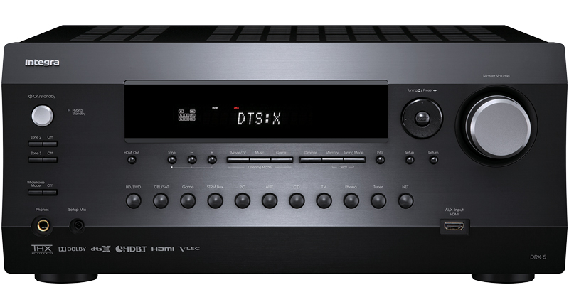 Integra DRX-5 7 2 Channel Dolby Atmos & DTS:X Ready Network A/V Receiver