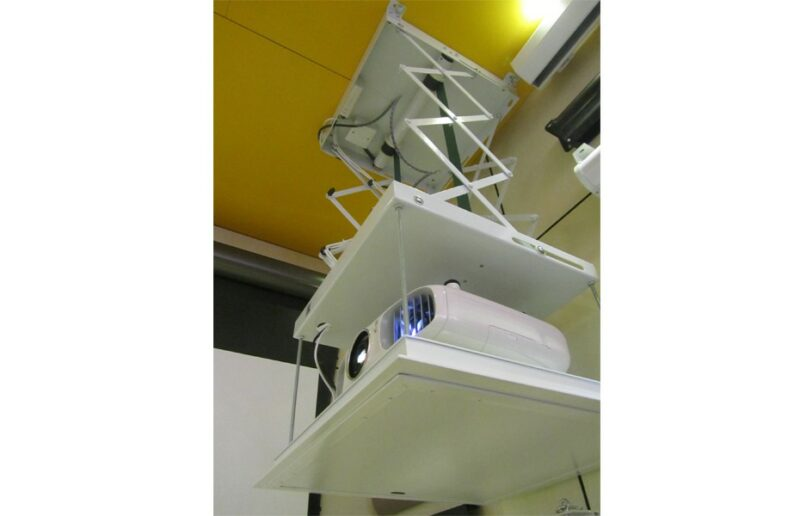 Motorised Projector Lift - Extension 800mm, 508x508x145mm (WxDxH)