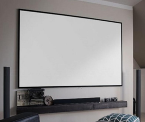 "100"" 16:9 Slim Fixed Frame Screen"