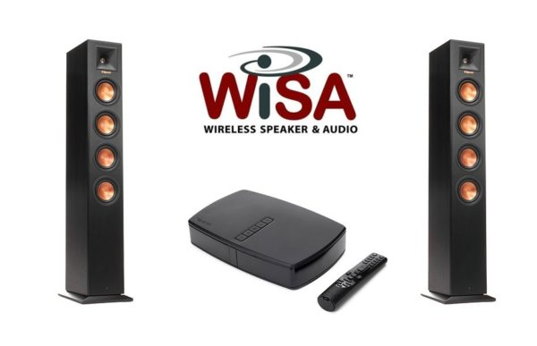 Klipsch WiSA 2.0 Wireless Floorstanding Speaker Package