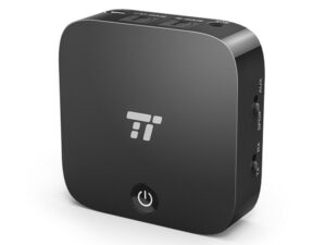 TaoTronics TT-BA09 Bluetooth 4.1 Transmitter and Receiver supported Digital Optical TOSLINK & 3.5mm Audio
