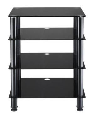 AVS Elite Audio Rack – 4 Shelf – Black