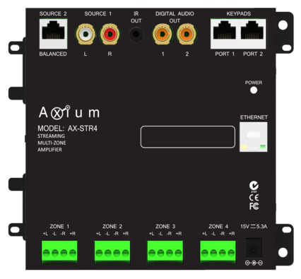 Axium AX-Mini4 Multiroom Amplifier