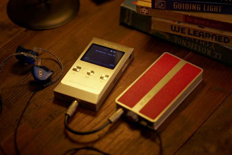 Aune M2 with Portable Amp B1