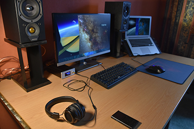 Ben's audiophile stereo set-up on a budget