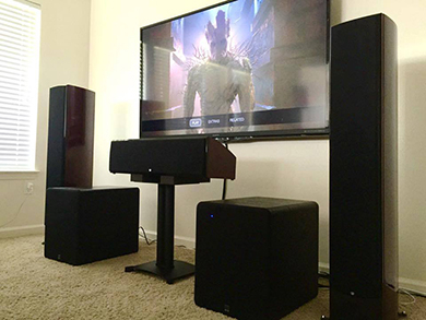 The power of two: dual subwoofers