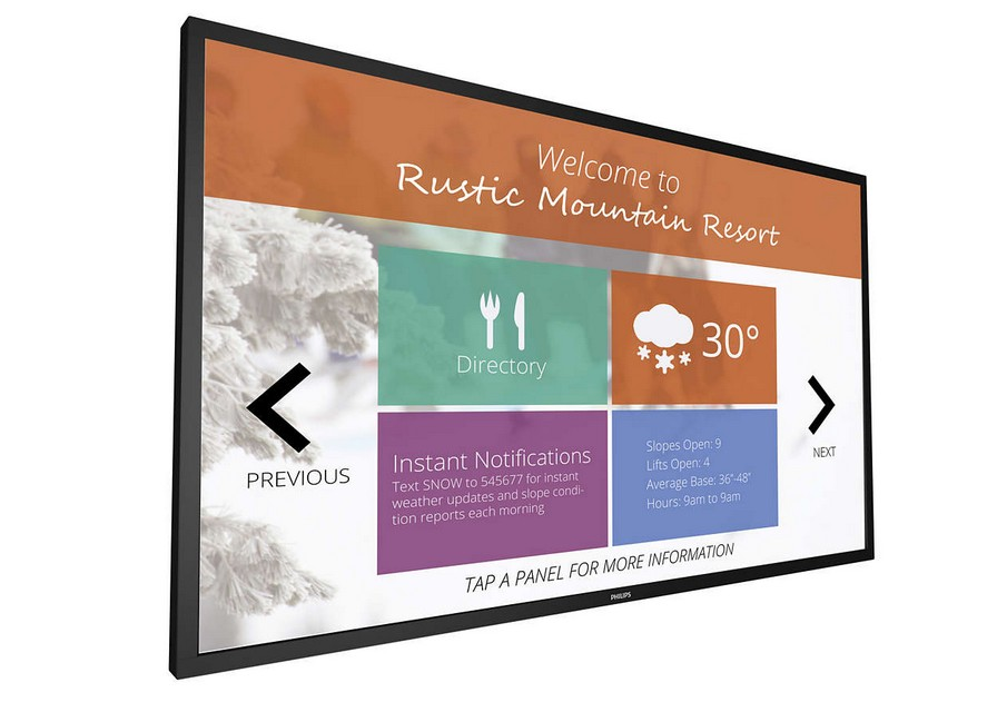 Philips 43BDL4051T Multi-Touch Display 43″