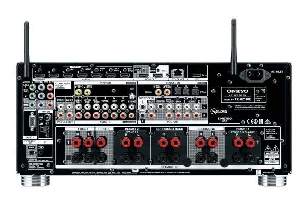 ONKYO TXRZ1100B 9 2 Channel 3 Zone AV Receiver