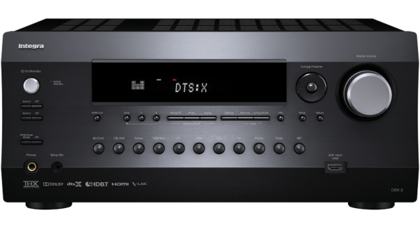 Integra DRX-5 7.2 Channel Dolby Atmos & DTS:X Ready Network A/V Receiver