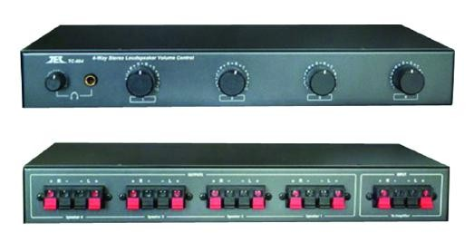 Technolink 4-Channel speaker selector with volume control