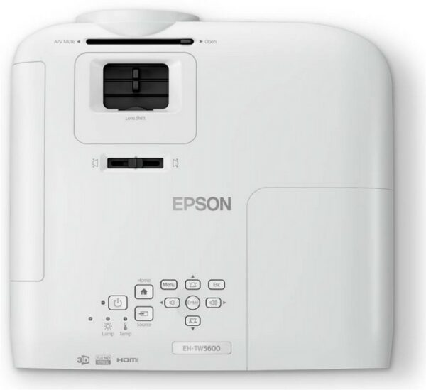 EPSON EH-TW5600 HD 3D Home Cinema and Gaming Projector
