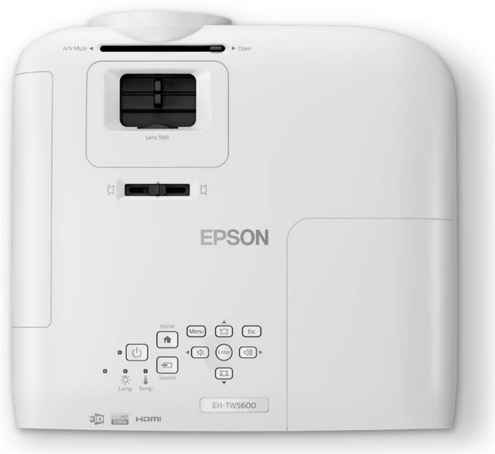 Epson Eh Tw5600 Hd 3d Home Cinema And Gaming Projector