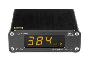 Topping D10s USB 32bit/384kHz DSD 256 DAC
