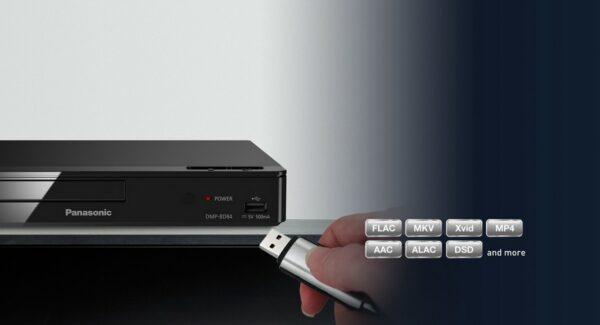 Panasonic DMP-BD84 Smart Bluray Player