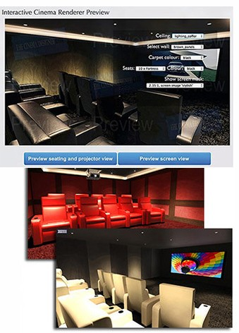 Rapallo Professional home theatre design report