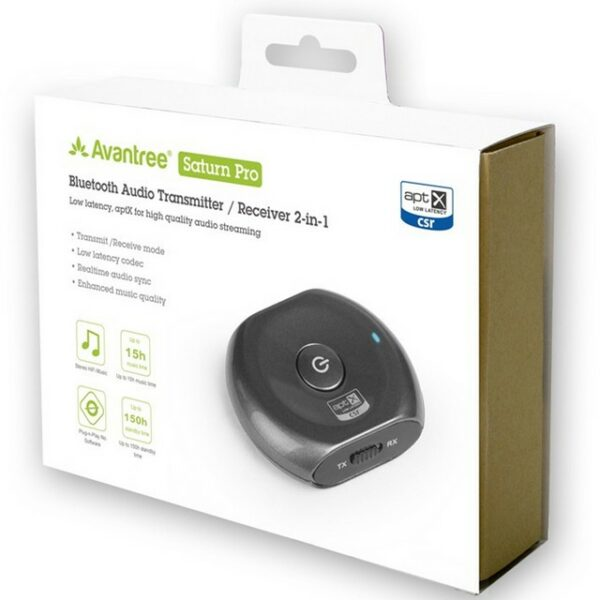 Avantree Saturn Pro Low latency Wireless receiver and transmitter 2-in-1