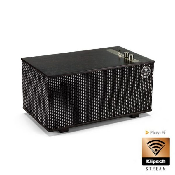 Klipsch The Capitol Three - Ebony and Silver