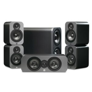 Q Acoustics Q3010 5.1 Speaker Package Gloss White