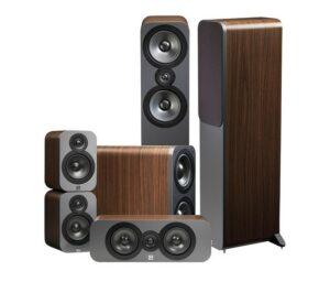 Q Acoustics Q3050 5.1 Walnut