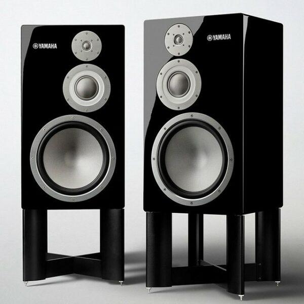 Yamaha NS-5000 Flagship 3-Way Bookshelf Speaker & Stands