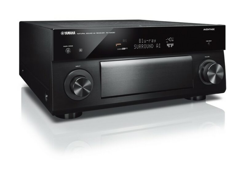 Yamaha Aventage RX-A2080 9.2-Channel AV Receiver with MusicCast