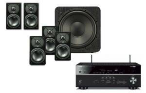 Yamaha RX-V685 AV Receiver & SVS 5.1 Satellite Speaker/Subwoofer Combo