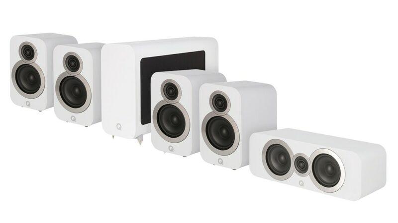Q Acoustics 3010i Cinema Pack White