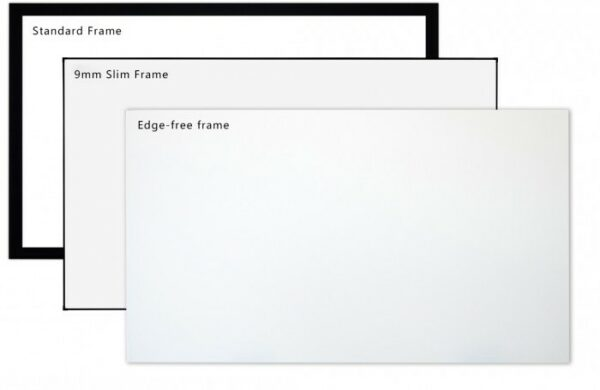 "100"" 16:9 Edge Free Frame Screen 4k Ready"