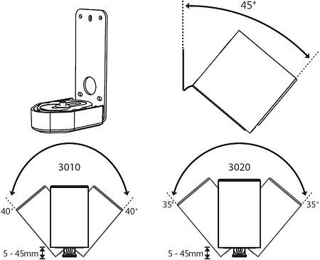Q Acoustics 3000 Series Wall Bracket 3000WB