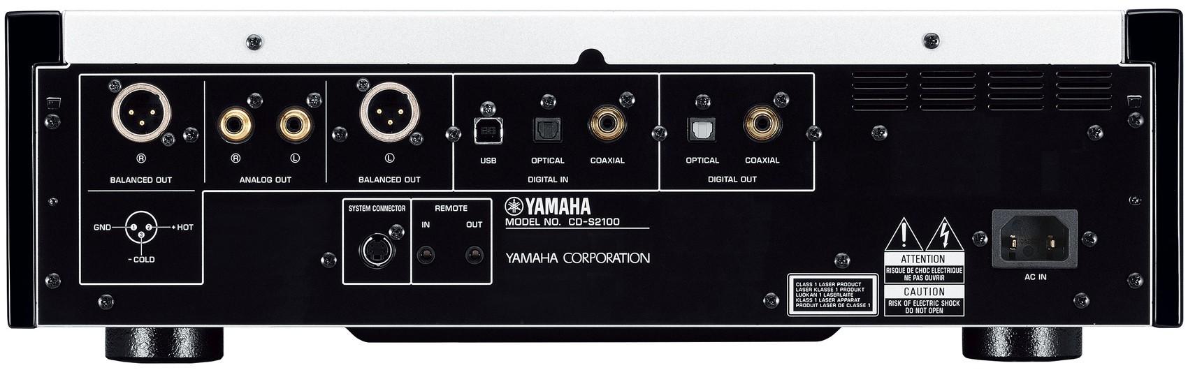 Yamaha CD-S2100 High-Grade CD Player