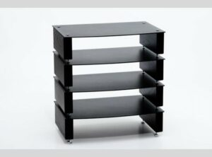 Custom Design Milan Inert HiFi 4 Tier Rack